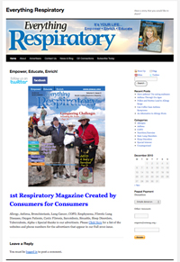 Everything Respiratory Magazine